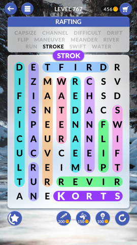 wordscapes search level 767