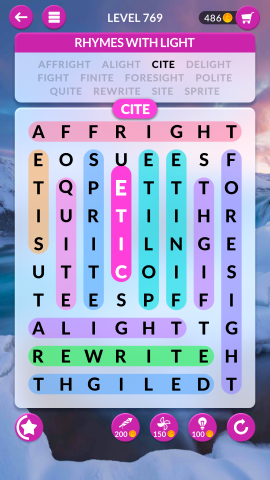 wordscapes search level 769