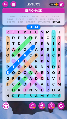wordscapes search level 776