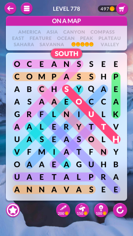 wordscapes search level 778
