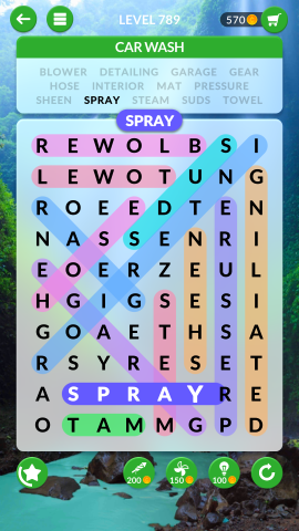 wordscapes search level 789