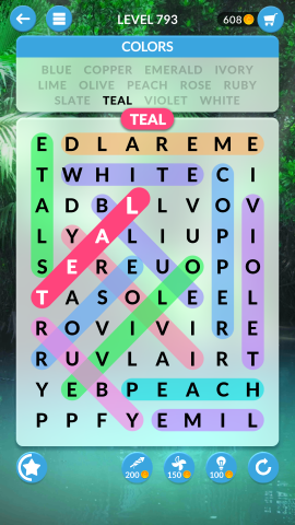 wordscapes search level 793