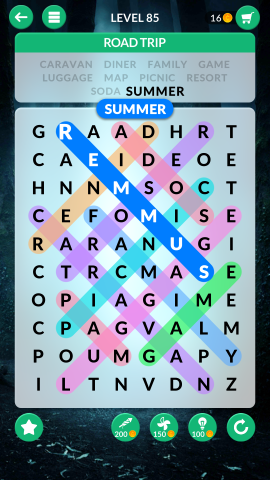 wordscapes search level 85