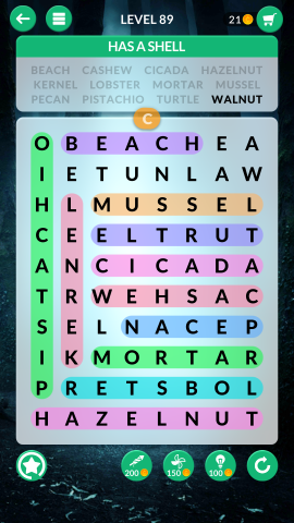 wordscapes search level 89
