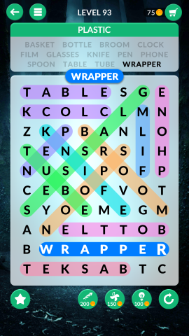 wordscapes search level 93