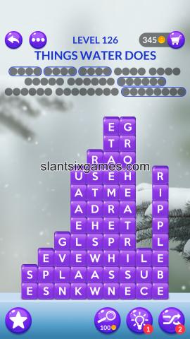 Word stacks level 126