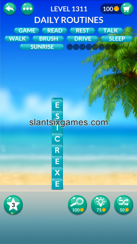Word stacks level 1311
