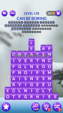 Word stacks level 138