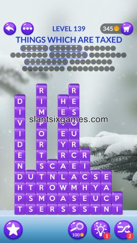 Word stacks level 139