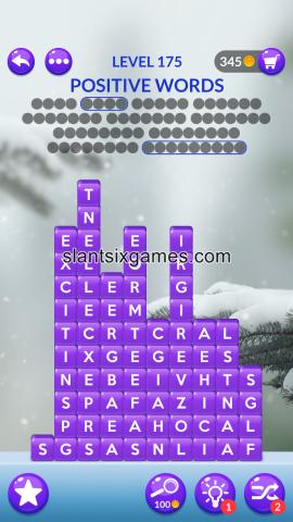 Word stacks level 175