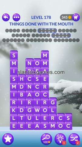 Word stacks level 178