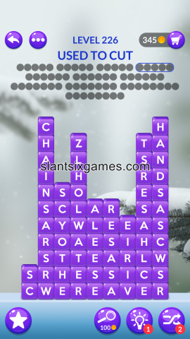 Word stacks level 226