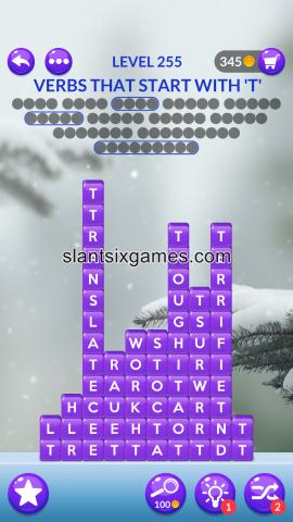 Word stacks level 255