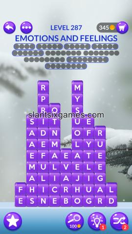 Word stacks level 287
