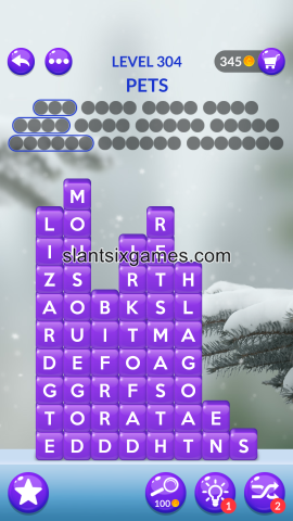 Word stacks level 304