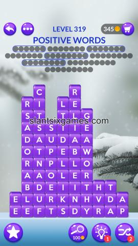 Word stacks level 319
