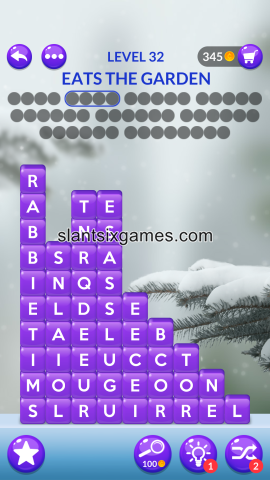 Word stacks level 32