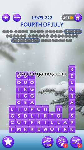 Word stacks level 323