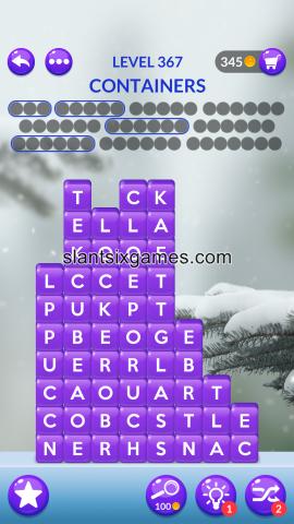 Word stacks level 367