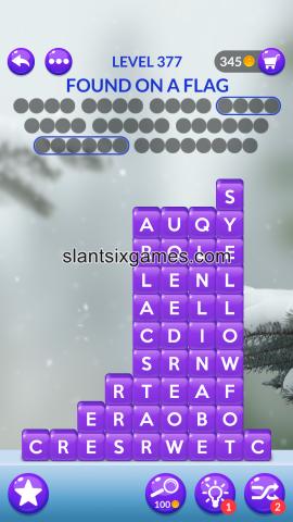 Word stacks level 377