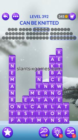 Word stacks level 392