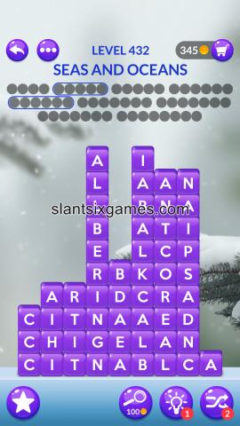 Word stacks level 432