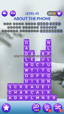 Word stacks level 45