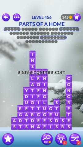 Word stacks level 456