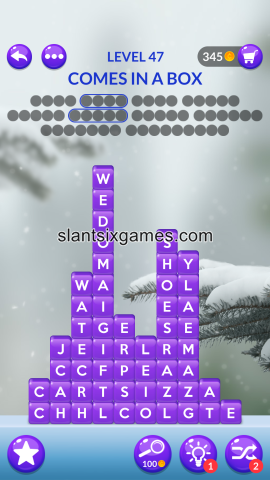 Word stacks level 47