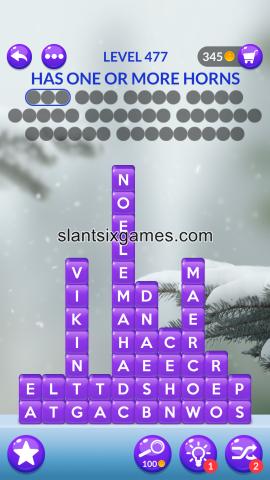 Word stacks level 477
