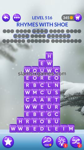 Word stacks level 516