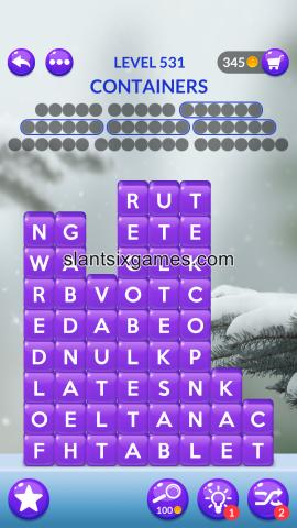 Word stacks level 531