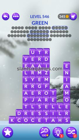 Word stacks level 546