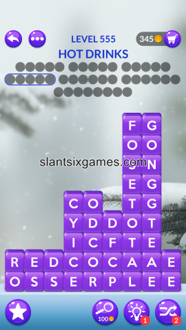 Word stacks level 555