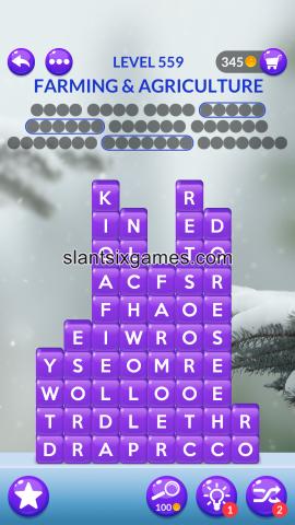 Word stacks level 559