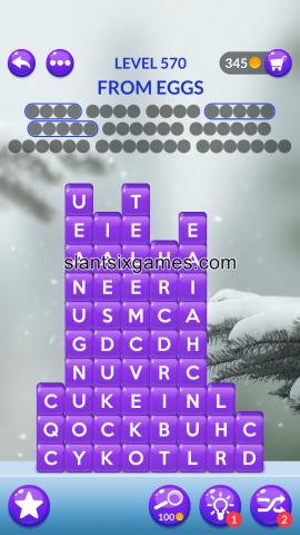 Word stacks level 570