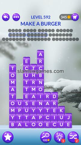 Word stacks level 592