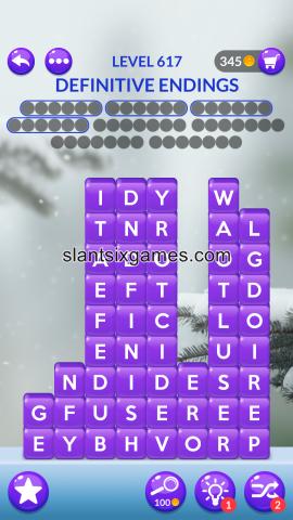 Word stacks level 617