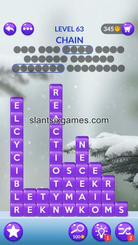 Word stacks level 63