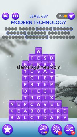 Word stacks level 637