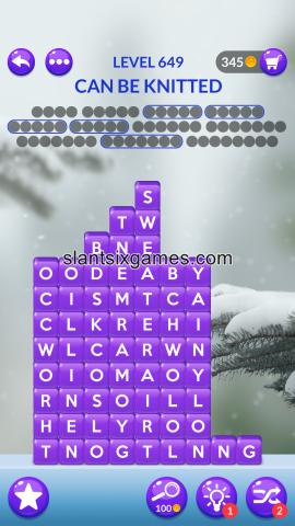 Word stacks level 649
