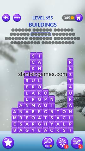 Word stacks level 655