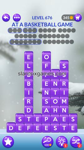 Word stacks level 676