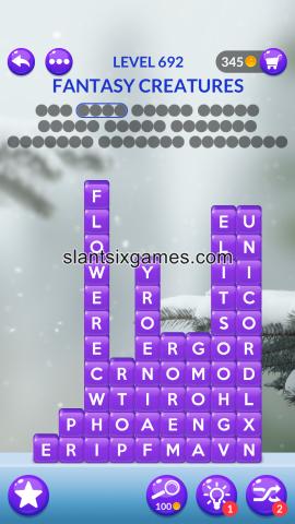 Word stacks level 692