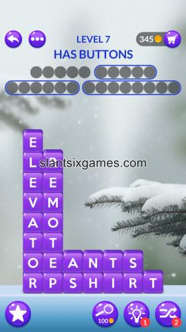 Word stacks level 7