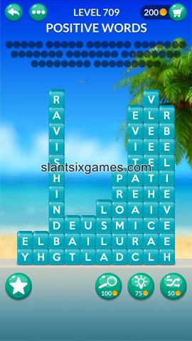 Word stacks level 709