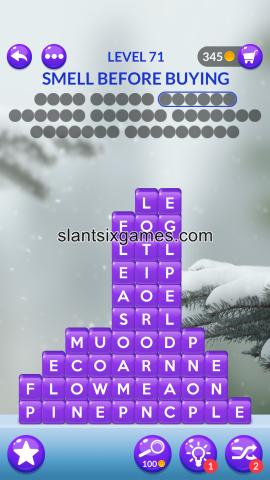 Word stacks level 71