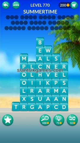 Word stacks level 770