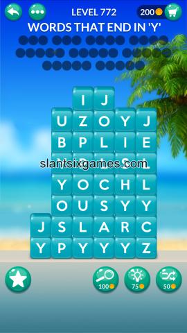 Word stacks level 772