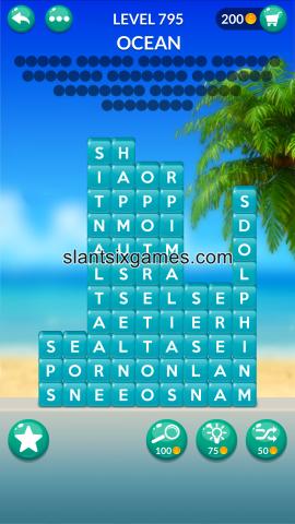 Word stacks level 795